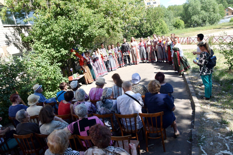 День России в Чеховке