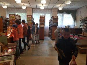 События библиотеки-филиала № 13 имени Ф. М. Достоевского за июль