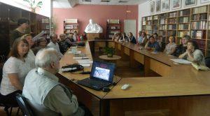 «Площадь Волкова: История и судьба», встреча архитекторов и краеведов