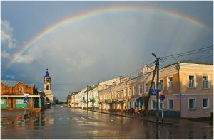 О Лермонтове — в городе Кашине