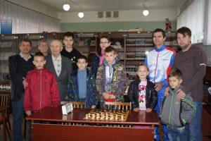 «Четыре коня», встреча в шахматном клубе