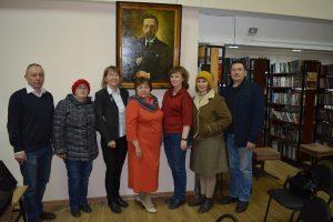 Встреча с коллегами из Вологды