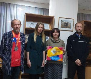 «ЯзаБЕГ», встреча с представителями клуба