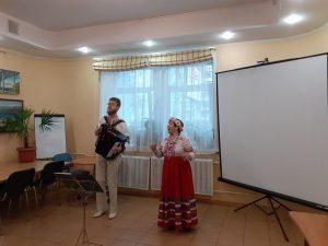 «Русские песни», концерт фольклорной группы «Ромашка»