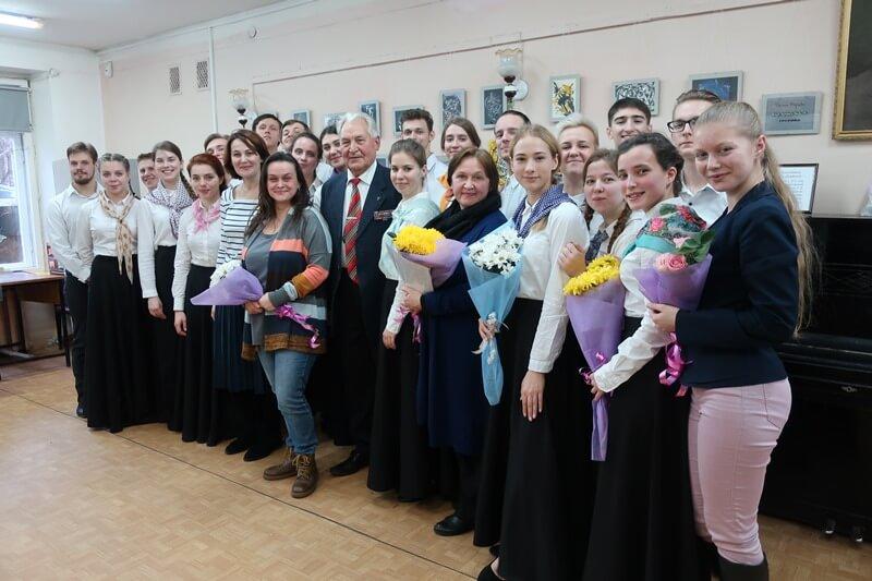 «Фронтовой альбом», концерт студентов Театрального института