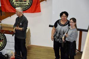 Встреча ко Дню неизвестного солдата с отрядом «Подвиг»