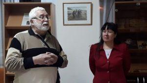 Встреча с председателем ярославского отделения Союза литераторов РФ Александром Олейниковым