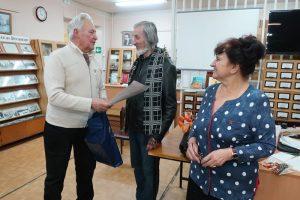 Встреча с актёром Виталием Стужевым