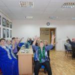 """«Новогодний дилижанс», заседание клуба """"Гармония"""""""