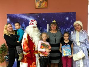 «Открытие приёмной Деда Мороза в библиотеке», интерактивная программа