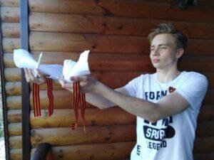 Чеховка участвует в акции «Георгиевская лента»