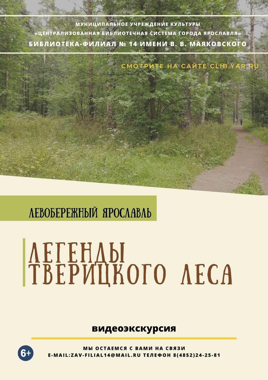 Видеоэкскурсия «Легенды Тверицкого леса»