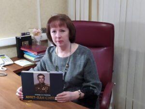 Книга «Легенда XX столетия: Амет-Хан Султан» в дар от Валерия Басырова