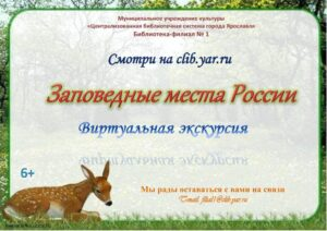 Виртуальная экскурсия «Заповедные места России»