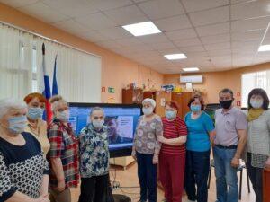 События библиотеки-филиала № 11 имени Г. С. Лебедева за апрель 2021 года