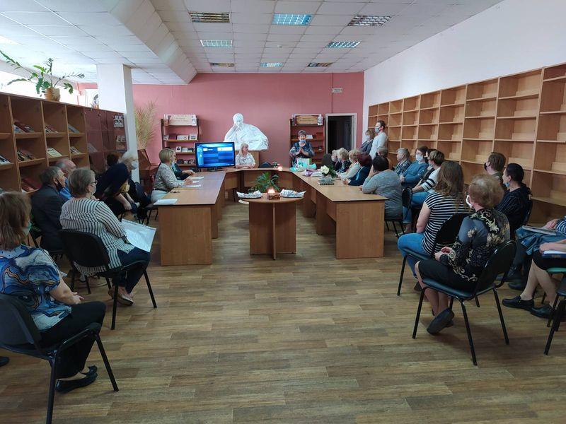 Лермонтовка поздравляет с юбилеем Галину Андреевну Валяеву