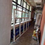В Центральной библиотеке имени Лермонтова полным ходом идут ремонтные работы