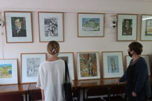 «Ликующий мир красок», выставка работ участников Всероссийского конкурса